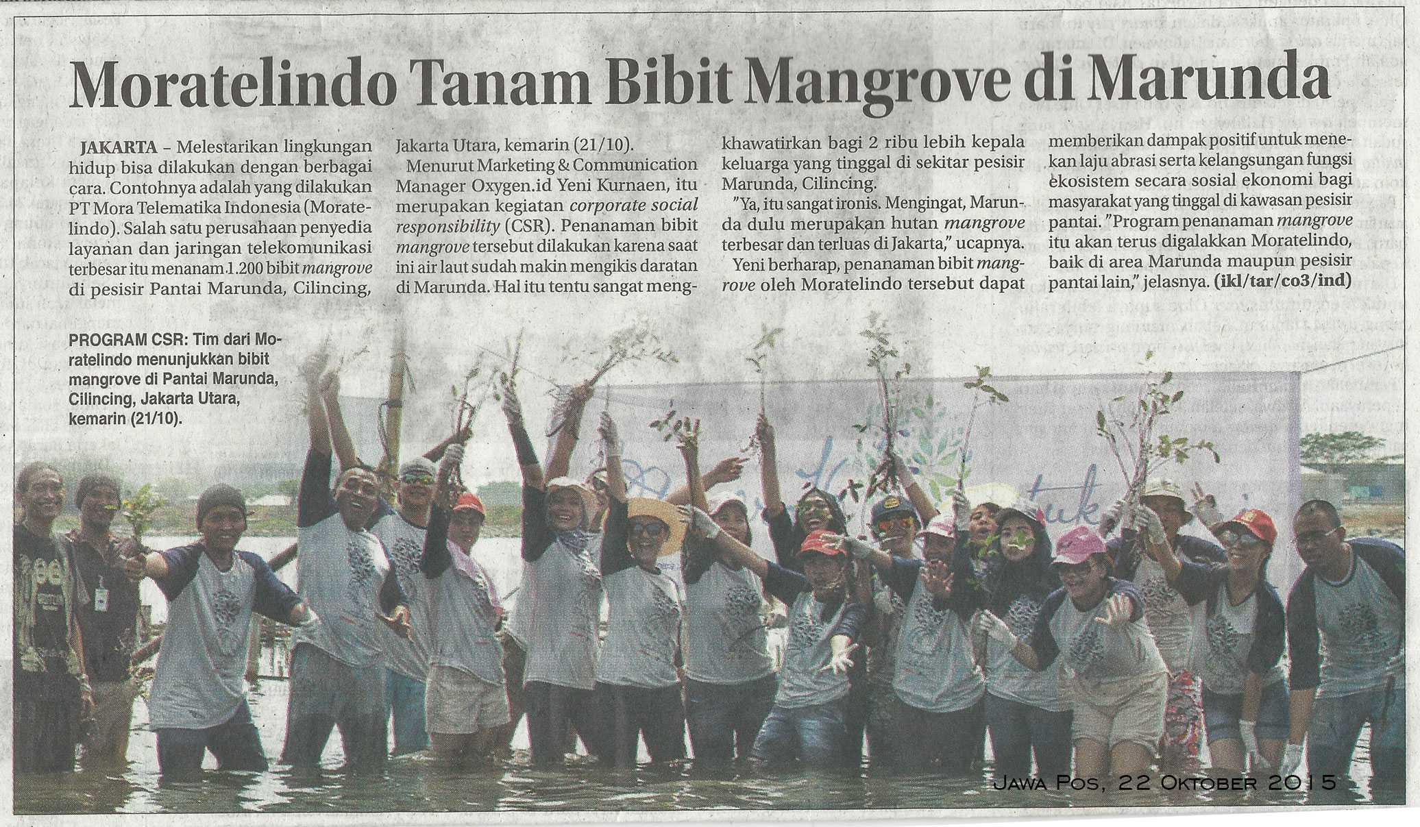 Mangrove untuk Bumi